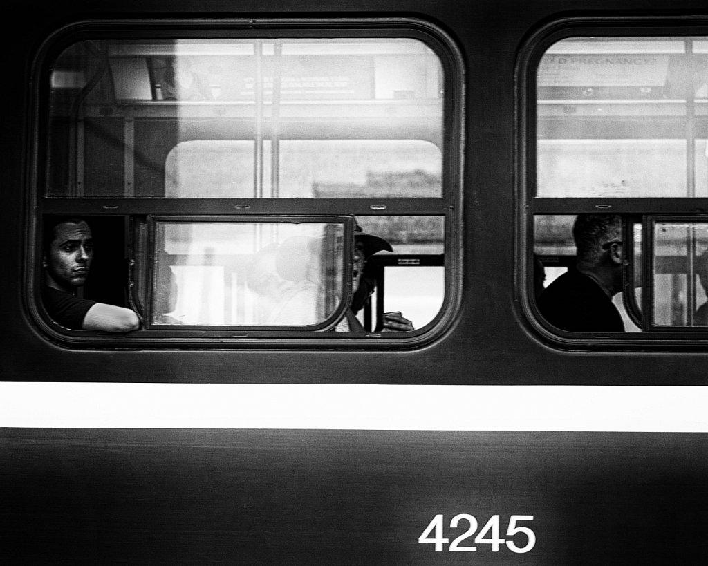 streetcar contemplation